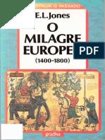 E. L. Jones - O Milagre Europeu (1400-1800)