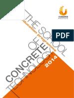 The Concrete Institute-Education Programme 2014