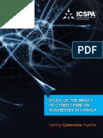 ICSPA Canada Cyber Crime Study Report
