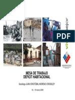 Deficit Habitacional - Juan Cristobal Moreno