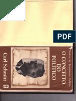 Schmitt, C. O Conceito Do Político