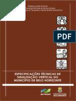 Especificacao Sinalizacao Vertical 2013