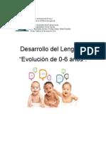 Desarrollo Del Lenguaje Infantil de 0