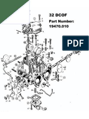 Weber Carburettors | Carburetor | Throttle