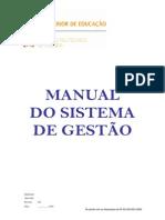 MSG - Manual Do Sistema de Gestao 1