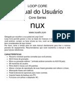 NUX - Loop Core Manual Em Portugues