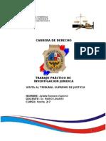recorrido por el Tribunal Supremo de Justicia de Bolivia
