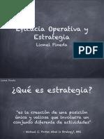 Eficacia y Estrategia