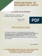 Planificacion Economica Regional y Local
