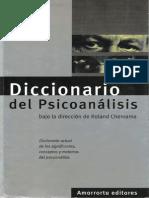Diccionario Del Psicoanálisis [Roland Chemama]