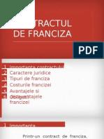 Contract franciza
