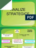 Modelul PORTER (Analize Strategice)