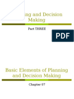 Chapter 07 Basic Element of Planning and Decision Making.ppt