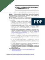 P.12.- Procedimiento Para Preparación y Respuesta a Emergencias