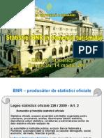 Prezentare BNR Statistica Turismului