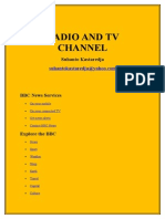 Radio and Tv Channel