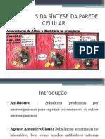 Inibidores da parede celular bacteriana.pptx