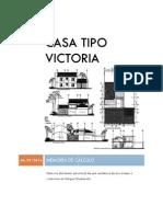 Casa Tipo Victoria Memoria 060914