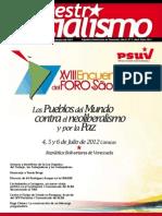 Revista Nuestro-Socialismo N3 2012