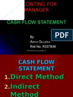 Cash Flow Statement Presentation)