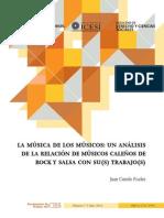 Juan Camilo Fischer - La música de los músicos