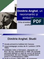 Dimitrie Anghel, Un Neoromantic Și Simbolist