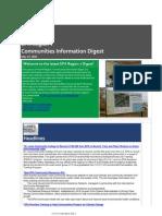 EPA Region 7 Communities Information Digest - May 22, 2015