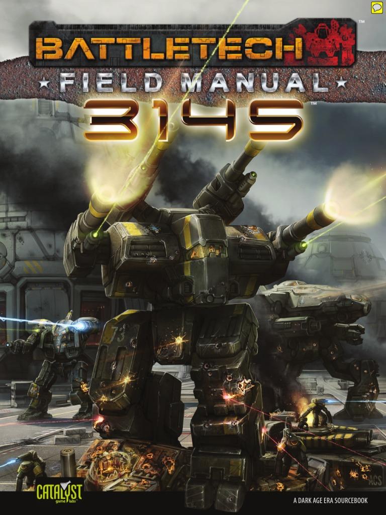 Battletech Field Manual 3145 | Battle Tech | Military