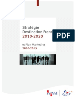 Atout France Strategie Marketing 2010 2020