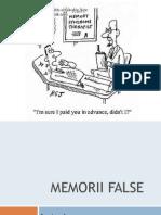 Memorii False