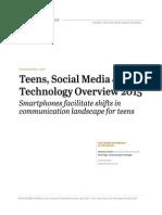 pew teensandtech update2015 040915