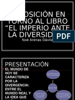 EXPOSICIÓN SOBRE EL LIBRO EL IMPERIO ANTE LA01ARENAS