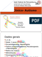 Caso Clínico- Autismo