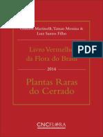 LivRo Vermelho Plant as Rar as Cerrado