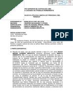 Poder Judicial Ordena Reposición de Rocio Guzmán Montoya