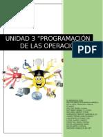 UNIDAD 3 - ADMINISTRACIÓN DE OPERACIONES 2