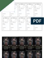 D6xD6 Biz Card Character Sheet