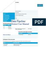 Data Pipeline District User Manual - FREE