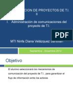 Administracion de Las Comunicaciones Del Proyecto de TI