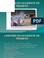 Lesiones en Accidente de Transito Favm