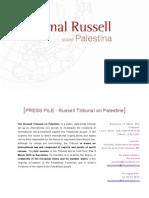 Russell Tribunal on Palestine Press Kit
