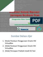 Instalasi Sistem Operasi Jaringan Berbasis Text