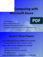 Introduction to Cloud Computing With Microsoft Azure