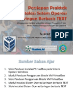 Persiapan Praktek Install OS Text