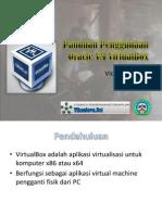 Panduan Penggunaan Oracle VirtualBox