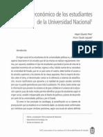 Pérez, Hesper; Et Al. - Perfil Socioeconómico de Los Estudiantes de La UN