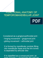 Functional Anatomy of Temporomandibular Joint