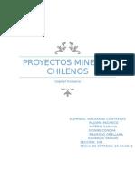 Informe Proyectos Mineros Chilenos