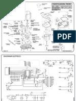 Panificadora Britania Prime - Manual de Peças e Esquema - 641033