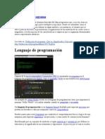 Definición de Programa